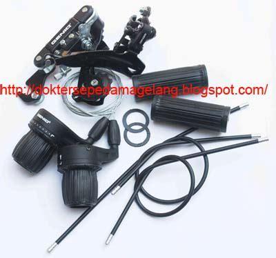 Berapa Handgrip Dokter Sepeda Magelang Shifter Rd Fd Genio Set Lengkap