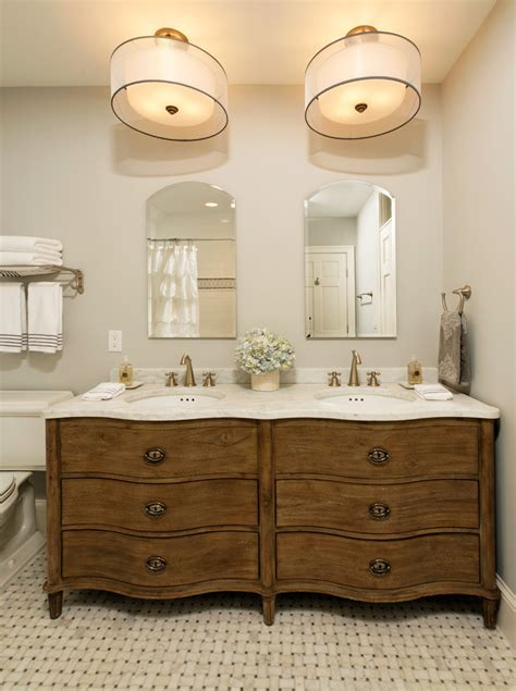 Traditional Vanity Lights Vanity Ideas Bathroom Traditional With Drum Pendant Light Floor Tile Pattern