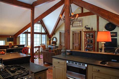 pan abode cedar homes timber log post  beam custom kit