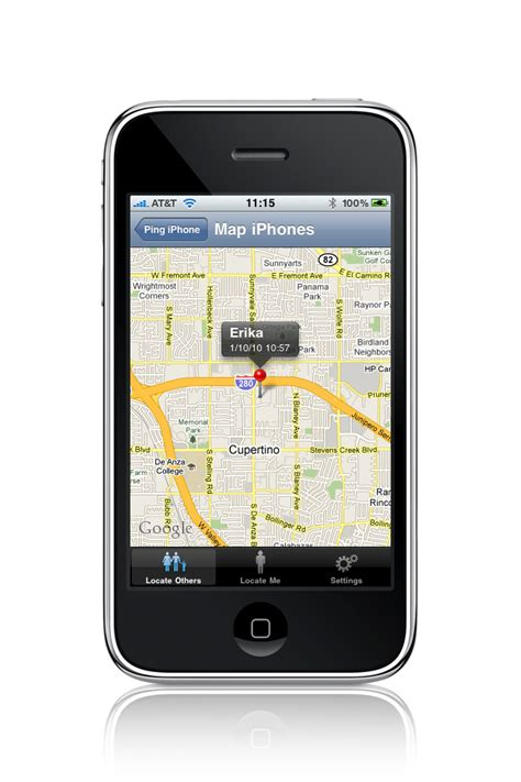 gps settings iphone android mobile apps