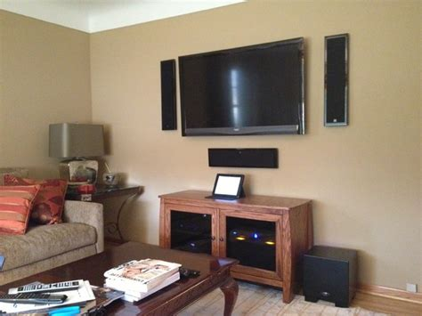 hifi living room contemporary family room minneapolis lelch audio video