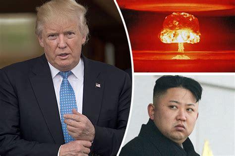 donald trump and kim jong un kim jong un demands donald trump end nuclear war threats