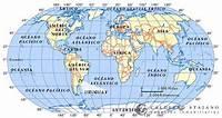 Fontes De Geografia Mapa Mundi