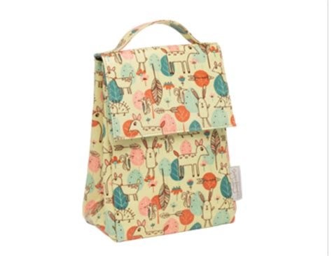 Sugar Booger Classic Lunch Sack Wind Up sugarbooger classic lunch sack happy baby deer doodlebugs children s boutique
