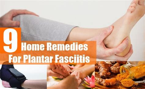 home remedies for plantar fasciitis remedies and health