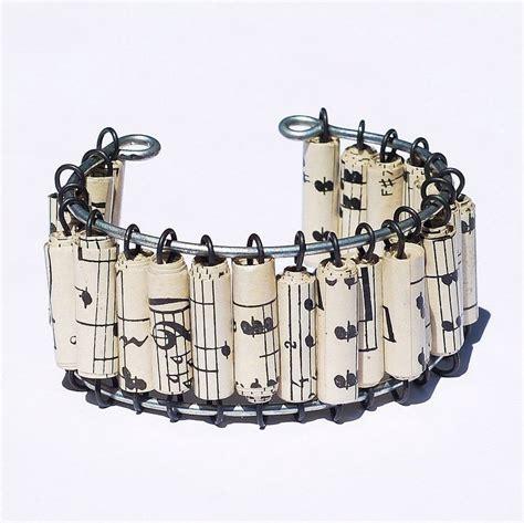 Paper Jewellery Earrings - paper bead jewelry bracelet by tanith rohe on deviantart