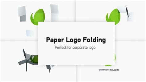 Paper Folding Sound Effect - logo paper folding by aniom videohive