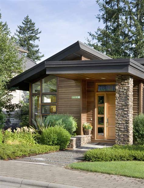 small contemporary homes unique small home plans unique small home 10