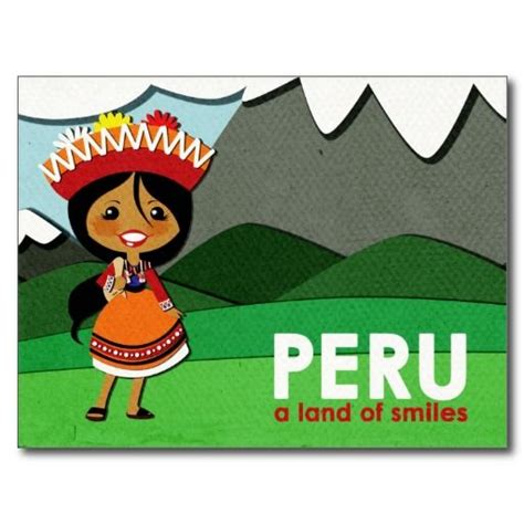 Greetings From Peru 2 by 18 Best Postcards From Around The World Images On