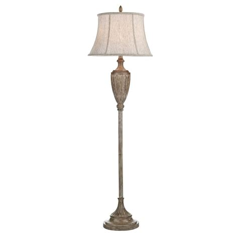 Light Shades For Standard Lamps laverne lav4949 x floor lamp in wood wash with shade