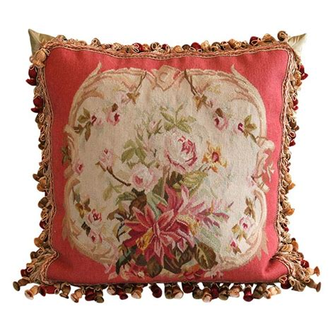 aubusson pillow at 1stdibs