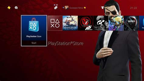 ps4 themes download uk ps4 gets free yakuza 0 and symphony of the machine themes