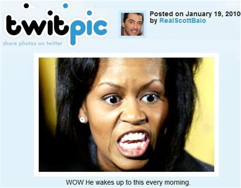 Scott Baio Michelle Obama Tweet | tamron hall takes down scott baio over offensive flotus