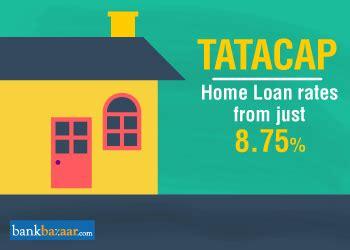 bank housing loan interest rates tata capital home loan tata capital housing finance