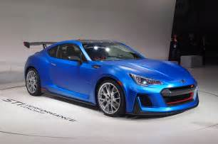 Subaru Brz News Subaru Brz Sti Performance Concept Debuts At New York Auto