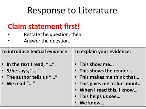 What Is A Response To Literature Essay by How To Write A Response To Literature Essay 6th Grade Basic Guide To Essay Writing Kathy S