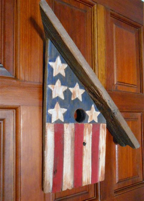 Rustic Americana Decor by Americana Decor Rustic Birdhouse Rustic Wall Hanging