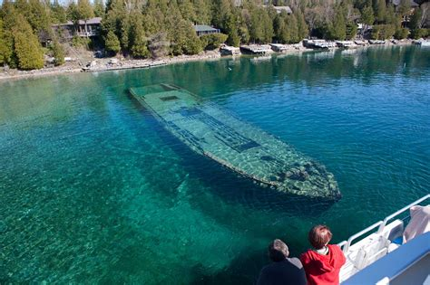 the sweepstakes shipwreck tobermory boat tours - The Sweepstakes