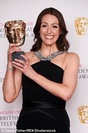 suranne jones admits suffering from 'baby brain' as she