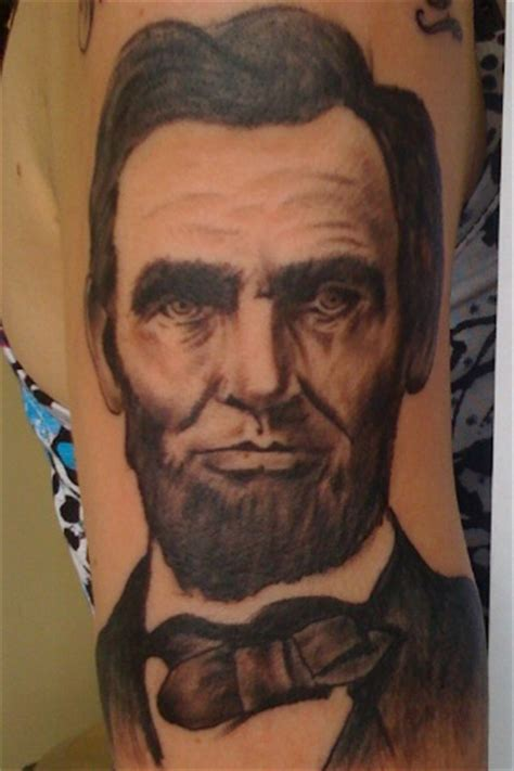 abraham lincoln tattoo 91 best images about abraham lincoln on