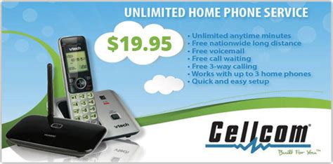 unlimited home phone service northern door communications