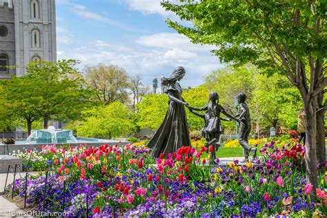 Things To Do Near Square Garden by Temple Square Statues Things To Do In Salt Lake City