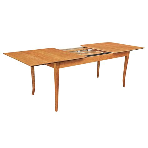 classic shaker style extension table american made solid