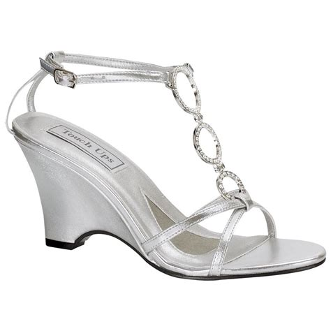 Dressy Wedge Shoes Wedding by Dressy Silver Sandals Wedding 28 Images Womens Shining