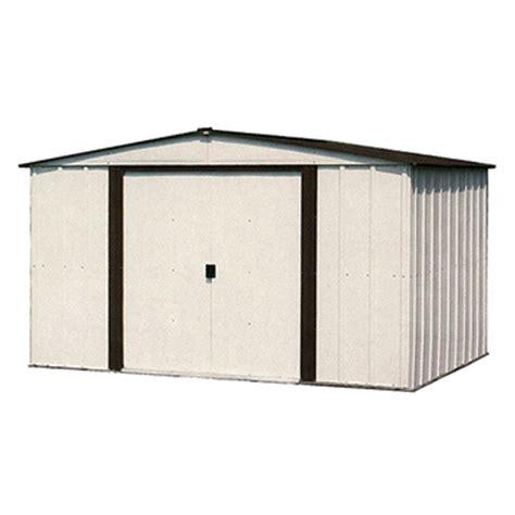8 X 10 Metal Shed by Arrow Designer 10 X 8 Steel Storage Shed
