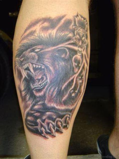 lion thigh tattoos 36 looking tattoos for leg