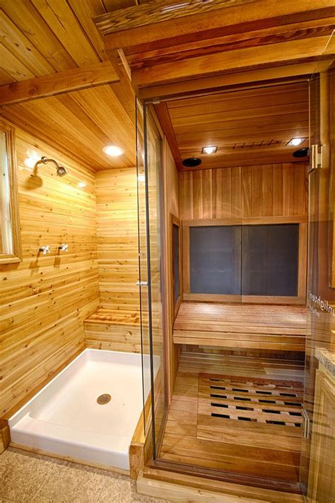 how to make steam room in your bathroom 25 best ideas about saunas on pinterest sauna ideas