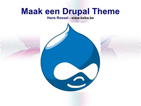 drupal theme not loading drupal theming hans rossel