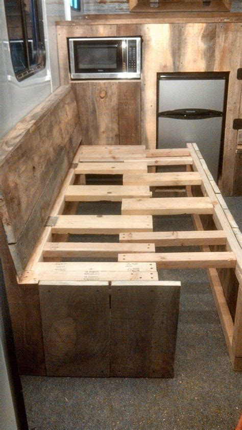 how to build trailer couches google search hideaway