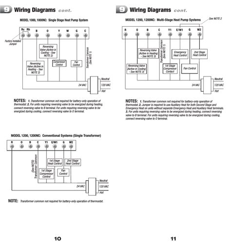 honeywell 8400 thermostat wiring diagram wiring diagrams