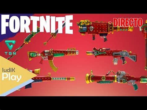 probando las nuevas armas del evento | fornite salvar el