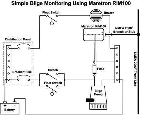 bilge alarm wiring diagram alarm free printable