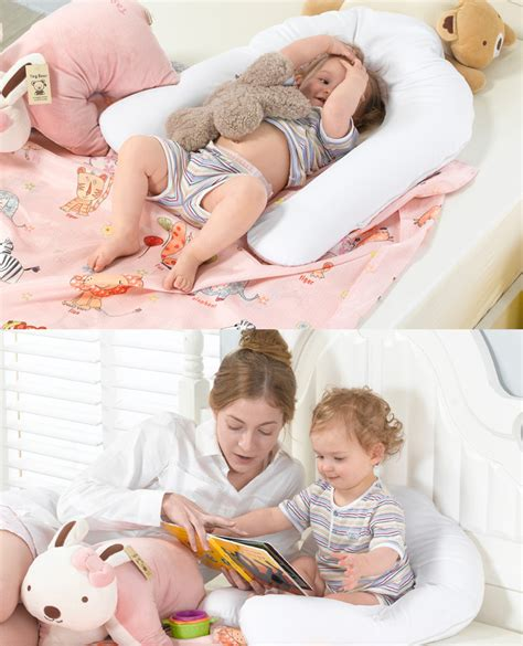 how to comfort a baby body pillow for baby total support sleep positioner