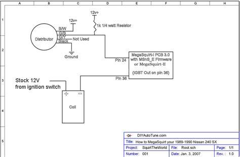 nissan ignition wiring wiring diagrams schematics