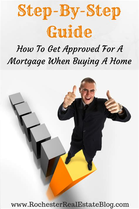 step by step on buying a house how to get approved for a mortgage when buying a home