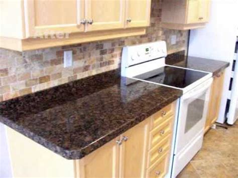 Above Kitchen Cabinets Ideas Granite Overlay By Crs Granite Baltic Brown Granite