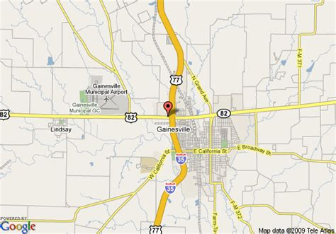 gainesville texas map map of la quinta inn and suites gainesville gainesville