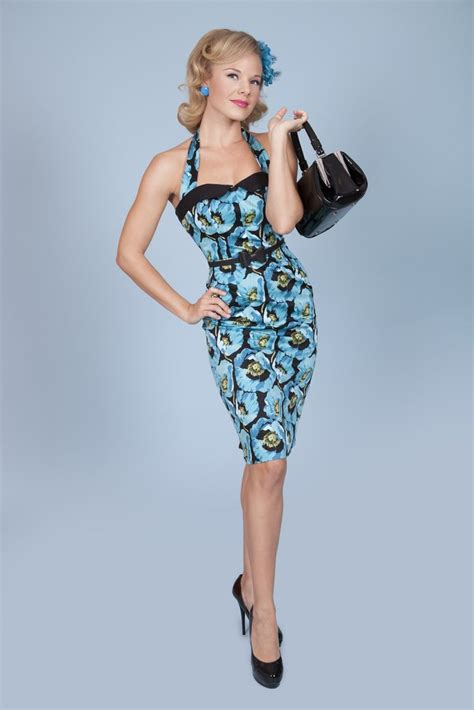Poppi Dress Blue 41 best pin up clothes images on rockabilly