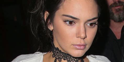 does kendall jenner have a tattoo kendall jenner now has an edgy lip