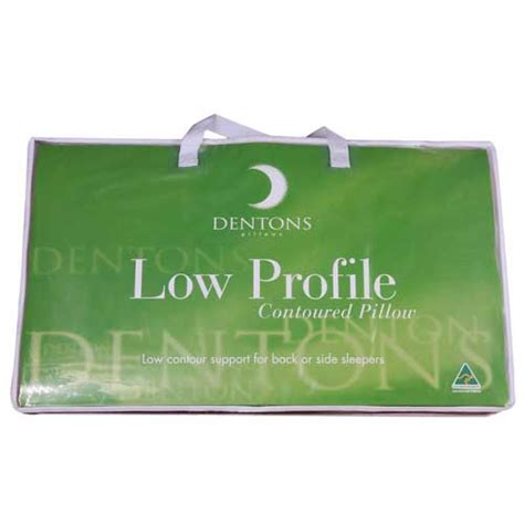 Low Profile Pillows by Dentons Low Profile Pillow