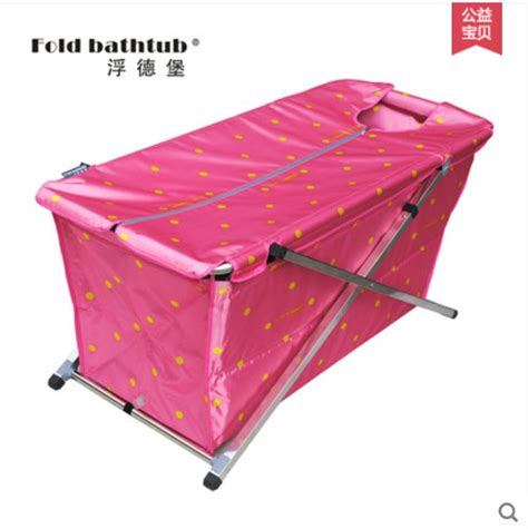 bathtub foldable size117 61 55cm free shipping simple folding bathtub free