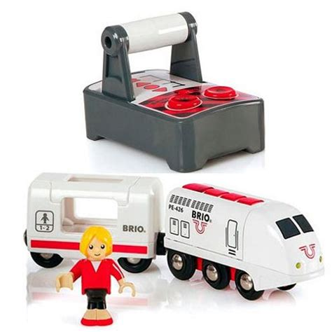 brio electric engine buy brio 33510 rc travel train for wooden train set from