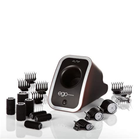 Ego Infused Hair Dryer Qvc ego professional ego boost set boost pod 10 rollers and