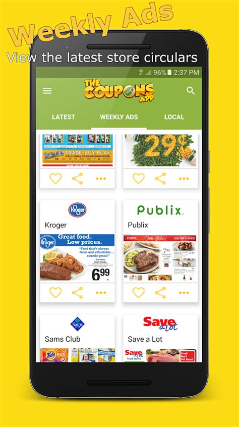 Printable Grocery Coupon Apps | the coupons app android apps on google play