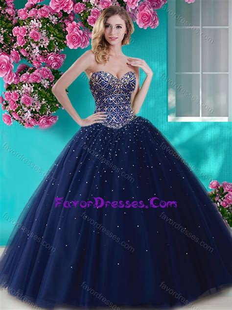 artistic big puffy tulle sweet  dress  beading