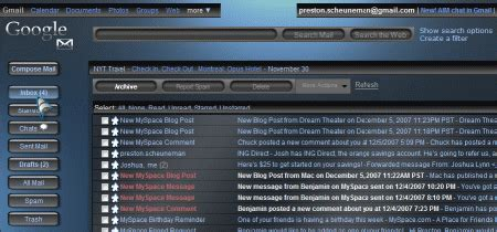 gmail themes and skins download 5 extreme gmail makeovers